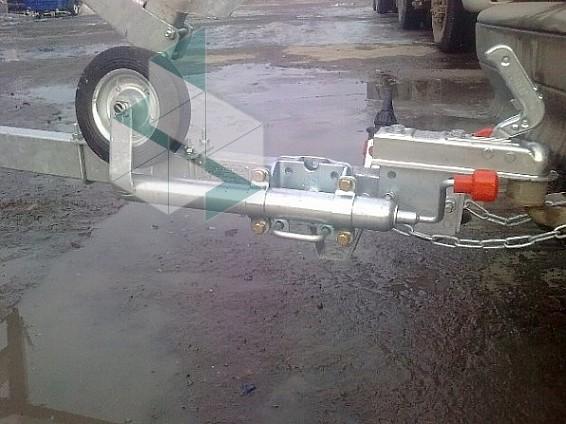 Подкатное колесо для прицепа легкового автомобиля