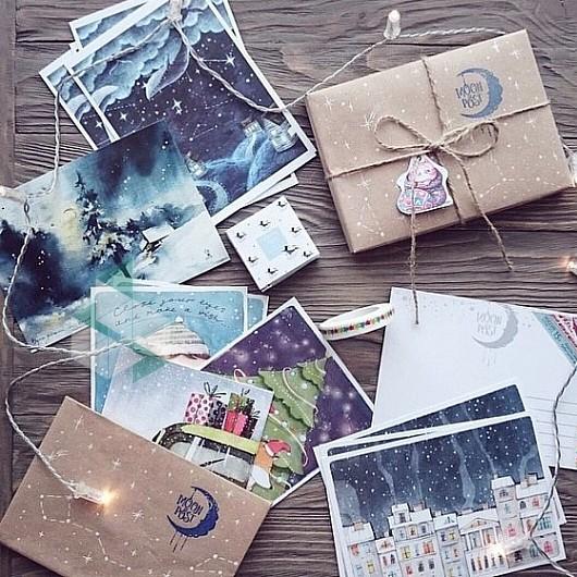 Открытка почтовая магазин, открытки днем